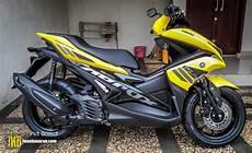 Modif Aerox Kuning by 98 Modifikasi Motor Aerox Warna Kuning Terupdate Kempoul