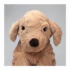 ikea gosig golden retriever stuffed soft brown
