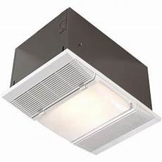 nutone 1 500 watt recessed ceiling heater with light and night light 9960 the home depot