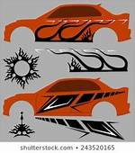 Car Sticker Design Images Stock Photos & Vectors