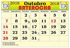 calendario outubro 2018 imprimir rm23 ivango calendario outubro 2018 imprimir rm23 ivango