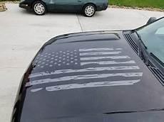 chevrolet gmc suburban tahoe silverado distressed flag hood vinyl decal