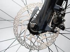 scheibenbremsen am fahrrad einstellen bremsen