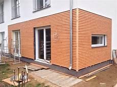Fertigstellung Der Holzfassade Hausbau In Strausberg