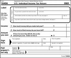 simplified tax form 1040a