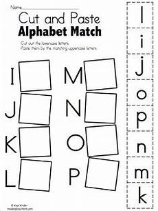 alphabet match a to e free worksheets kindergarten language arts kindergarten worksheets