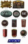 Some Of The Badge Used By Fiat Through Years  Car