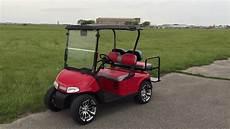 2012 E Z Go Rxv Electric Custom Golf Car Located
