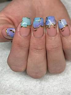 marble nail art designs to try this spring summer
