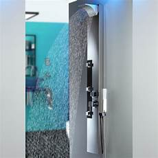 Edelstahl Fingerabdrücke Verhindern - edelstahl duschpaneel sanlingo duschs 228 ule mit spiegel