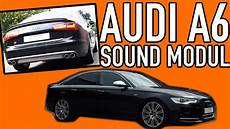 audi a6 4g v8 soundmodul tuning active sound gateway audi