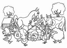 printable coloring pages of farm animals 17444 farm animals coloring pages getcoloringpages