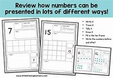 representing numbers activity sheets little lifelong learners