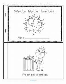 free printable earth science worksheets for kindergarten 13299 earth day emergent reader for preschool pre k and kindergarten free earth day activities