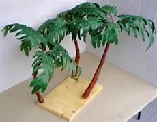 palme selber basteln preiswertes material zur pflanzengestaltung