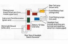 chevy light switch wiring diagram wiring diagram