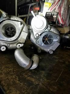 upgraded my stock turbo