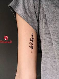 Wildflowers In The Inner Arm By Dalmontt Tattoos