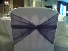 organza sashes and bows hire for wedding chair covers laceys event services wedding decor hire