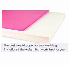 Paper Weight For Wedding Invitations