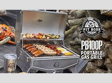 PB100P Portable Gas Grills   Pit Boss Grills   YouTube