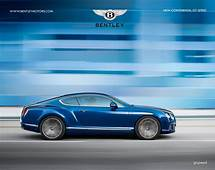 Sports Cars 2015 2013 Bentley Continental GT Speed Luxury
