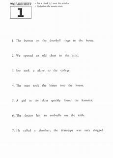 articles grammar worksheets for grade 1 25170 grammar worksheets 9th grade mreichert worksheets
