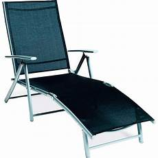 sonnenliege alu klappbar relax liegestuhl schwarz kaufen bei obi