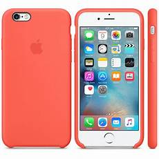 apple coque en silicone abricot apple iphone 6s etui