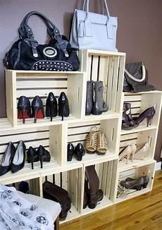 Platzsparendes Schuhregal Selber Bauen - schuhregal selber bauen coole ideen und anleitungen