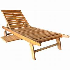 Wooden Sun Lounger With Tray Savvysurf Co Uk