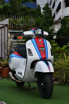 Modifikasi Vespa Matic by Modifikasi Vespa Sprint Matic Terbaru