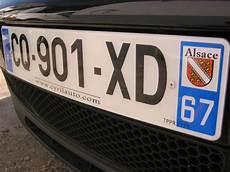 cout plaque immatriculation o 249 acheter une plaque d immatriculation pas ch 232 re