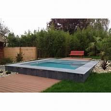 mini piscine enterrée le prix d une mini piscine mini budget
