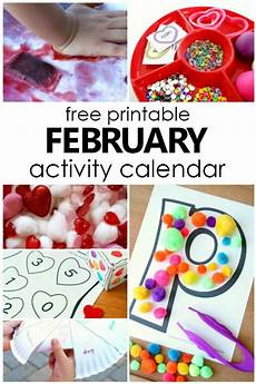 february preschool activities and fun things to do with kids fantastic fun learning
