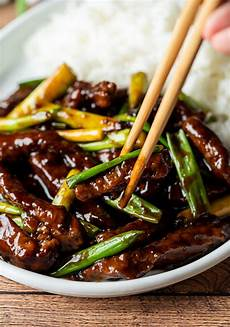 super easy mongolian beef recipe i wash you dry