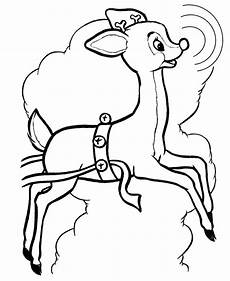 coloring pages reindeer coloring pages free and printable