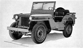 Willys MB With Slat Grill Reference Photo From TM 10 1207