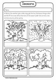 worksheets on seasons for grade 2 14834 pin on seasons