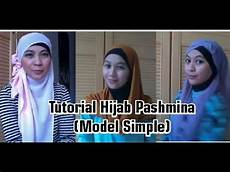 Kompilasi Trend Tutorial Pashmina Sifon Simple