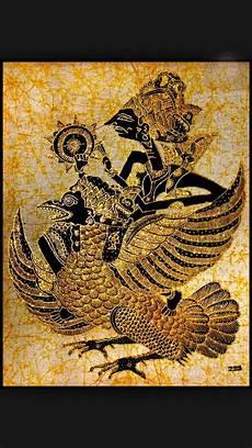 Wayang Kulit Depicted Here In Batik Wonderful