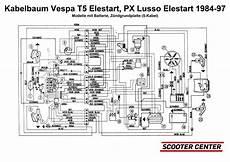 vespa px 125 e wiring diagram wiring diagram