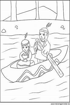 Indianer Ausmalbilder Kostenlos Ausmalbild Zwei Indianer Kinder