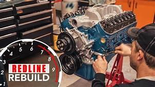 Ford 289 V 8 Engine Time Lapse Rebuild Fairlane Mustang