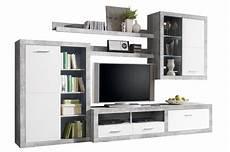 wohnwand betonoptik kaufen can 1 hbz meble wohnwand betonoptik wohnw 228 nde