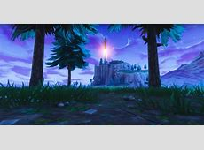 Fortnite's one time event featured a rocket launch and