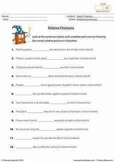 primaryleap co uk relative pronouns worksheet pronoun worksheets relative pronouns