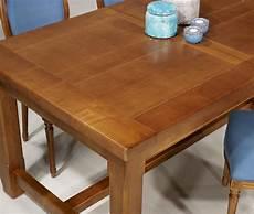 table de ferme rectangulaire mathis en merisier massif