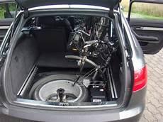 bild 8 fahrrad ohne fahrradhalter im auto transportieren