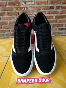 Jual Sepatu Vans Oldskool jual sepatu vans os oldskool skool mono black white